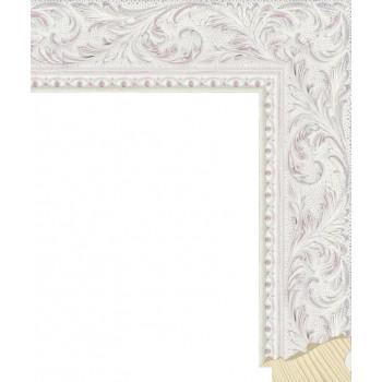 RS131.2.500 Деревянный багет белый