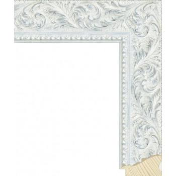 RS131.2.501 Деревянный багет белый