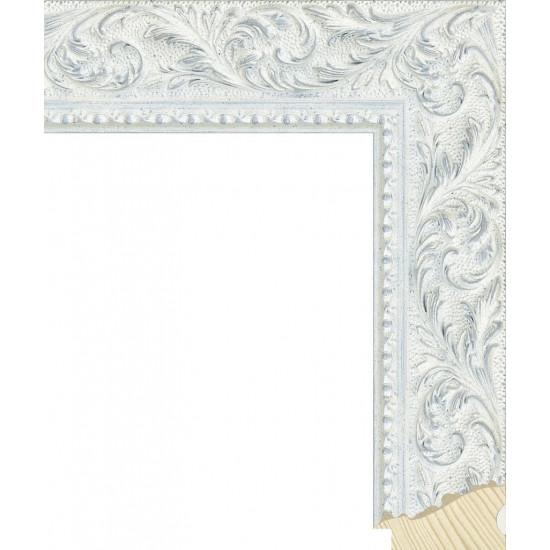 RS131.2.501 Деревянный багет белый в интернет-магазине ROSESTAR фото