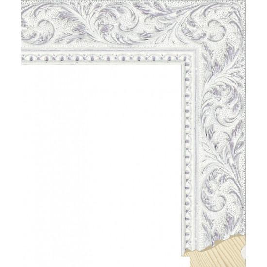 RS131.2.502 Деревянный багет белый в интернет-магазине ROSESTAR фото