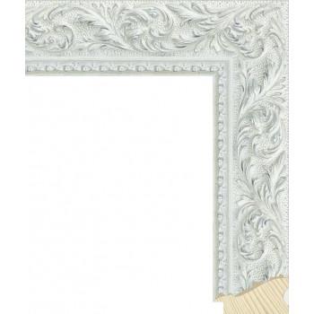 RS131.2.506 Деревянный багет серебряный