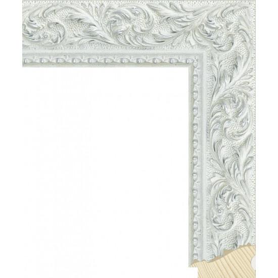 RS131.2.506 Деревянный багет серебряный в интернет-магазине ROSESTAR фото