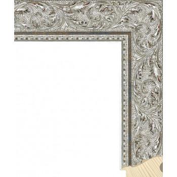RS131.2.509 Деревянный багет серебряный