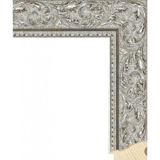 RS131.2.509 Деревянный багет серебряный в интернет-магазине ROSESTAR фото
