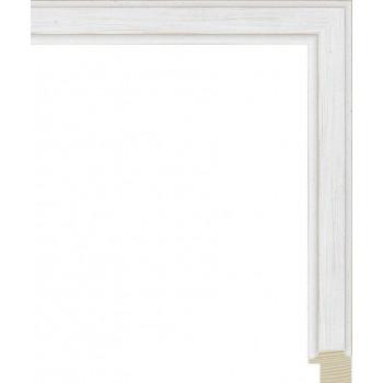 RS137.0.400 Деревянный багет белый