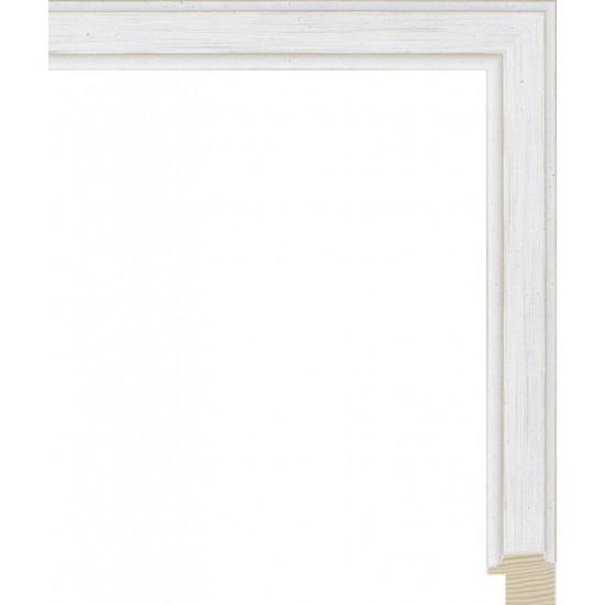 RS137.0.400 Деревянный багет белый в интернет-магазине ROSESTAR фото