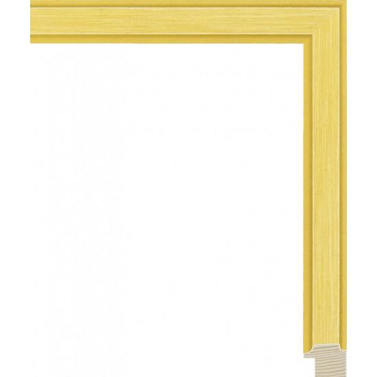RS137.0.404 Деревянный багет жёлтый в интернет-магазине ROSESTAR фото