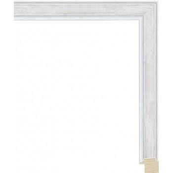 RS137.0.428 Деревянный багет серебряный