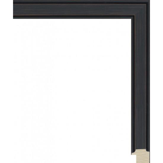 RS137.0.434 Деревянный багет чёрный в интернет-магазине ROSESTAR фото