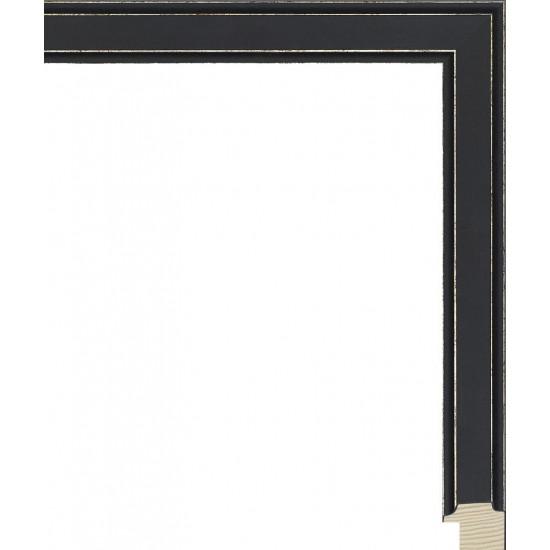 RS137.0.437 Деревянный багет чёрный в интернет-магазине ROSESTAR фото