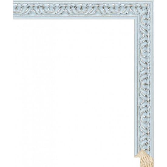 RS140.1.515 Деревянный багет голубой в интернет-магазине ROSESTAR фото