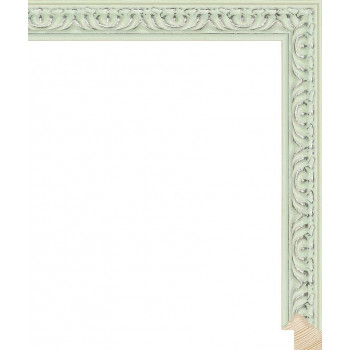 RS140.1.516 Деревянный багет зелёный