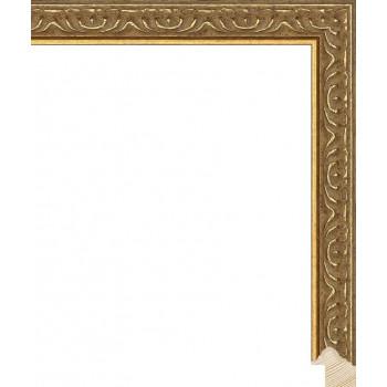 RS140.1.519 Деревянный багет золотой