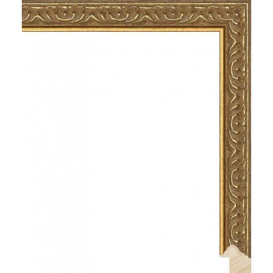 RS140.1.519 Деревянный багет золотой в интернет-магазине ROSESTAR фото