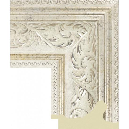 112.RS.003 Пластиковый багет Белый в интернет-магазине ROSESTAR фото
