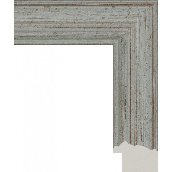 113.RS50.078 Пластиковый багет Серый в интернет-магазине ROSESTAR фото