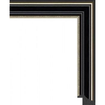 125N.RS.328 Пластиковый багет Черный