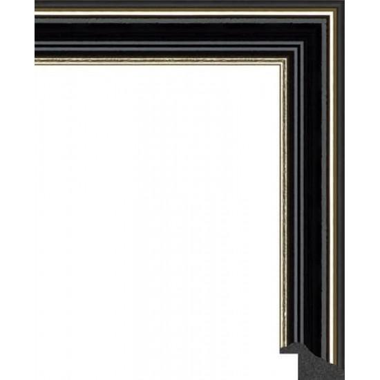 125N.RS.328 Пластиковый багет Черный в интернет-магазине ROSESTAR фото