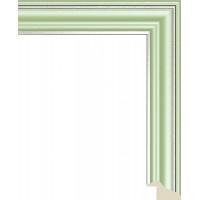 125N.RS.636 Пластиковый багет Зеленый