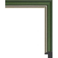 135N.RS.036 Пластиковый багет Зеленый