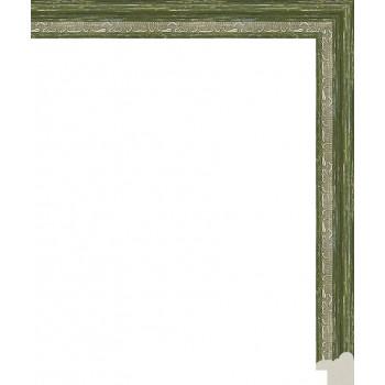 141.RS20.061 Пластиковый багет Зеленый