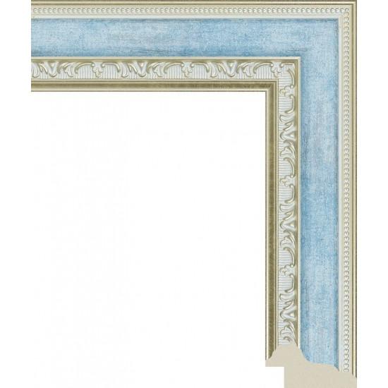 151.RS43.027 Пластиковый багет Синий в интернет-магазине ROSESTAR фото
