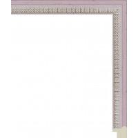 201.RS20.505 Пластиковый багет Розовый