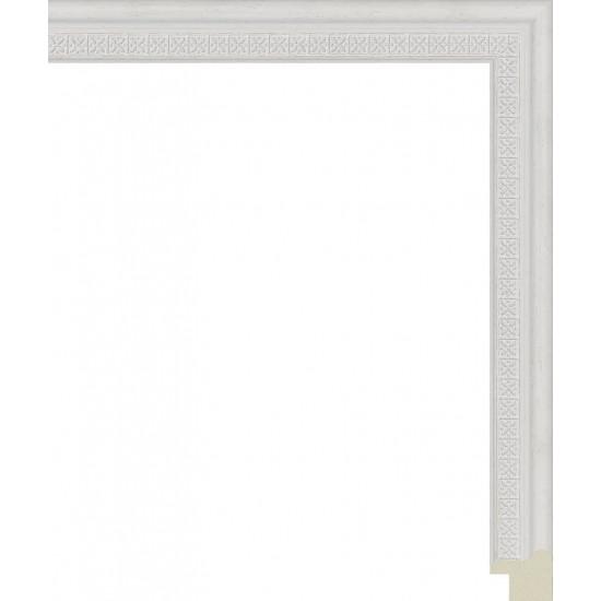 201.RS20.720 Пластиковый багет Белый в интернет-магазине ROSESTAR фото