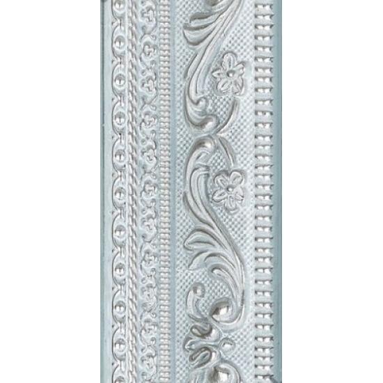 219.RS42.601 Пластиковый багет Серебряный в интернет-магазине ROSESTAR фото