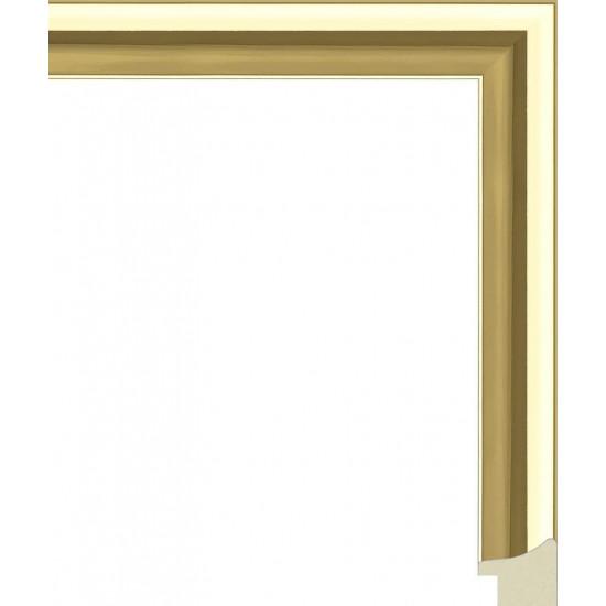 285.RS25.100 Пластиковый багет Золотой в интернет-магазине ROSESTAR фото