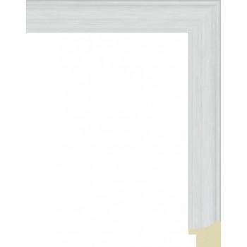 285.RS25.663 Пластиковый багет Белый