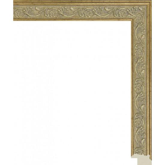 286.RS23.140 Пластиковый багет Золотой в интернет-магазине ROSESTAR фото