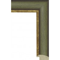 291.RS.002 Пластиковый багет Зеленый
