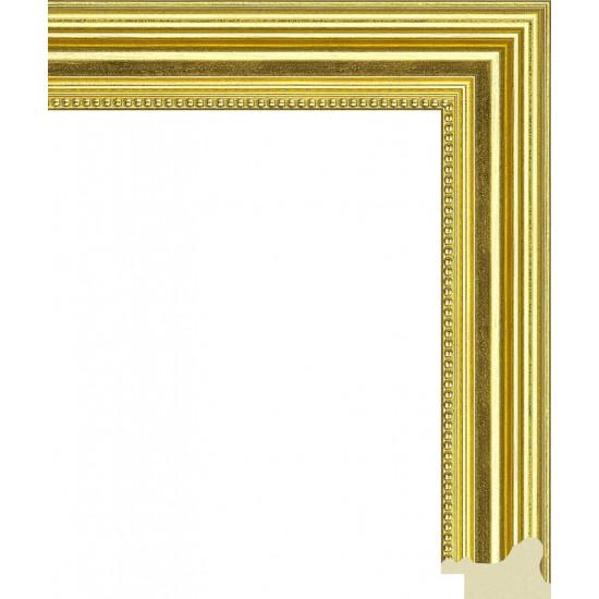 347.RS35.100 Пластиковый багет Золотой в интернет-магазине ROSESTAR фото