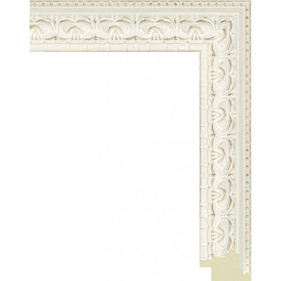 370.RS35.717 Пластиковый багет Белый в интернет-магазине ROSESTAR фото