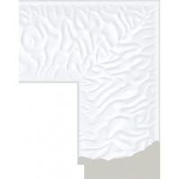 418.RS.300 Пластиковый багет Белый