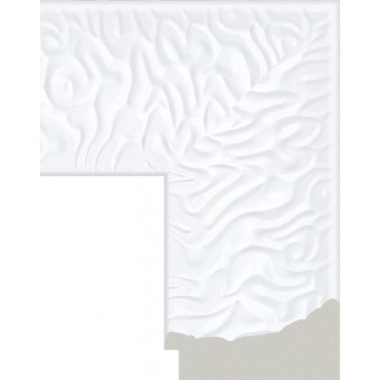 418.RS.300 Пластиковый багет Белый в интернет-магазине ROSESTAR фото