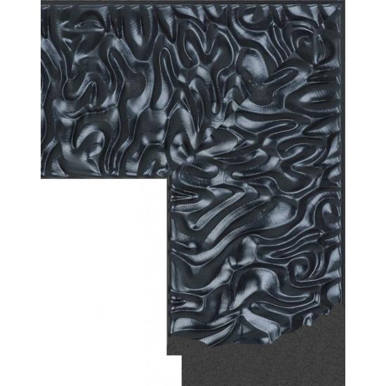418.RS.895 Пластиковый багет Черный в интернет-магазине ROSESTAR фото