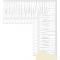 527.RS.114 Пластиковый багет Белый