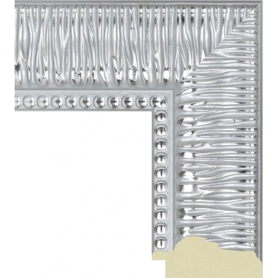527.RS.244 Пластиковый багет Серебряный в интернет-магазине ROSESTAR фото