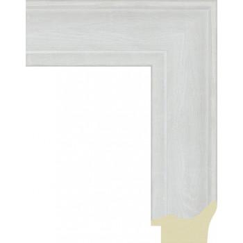 562.RS52.710 Пластиковый багет Белый