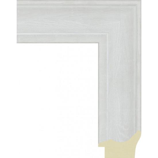 562.RS52.710 Пластиковый багет Белый в интернет-магазине ROSESTAR фото