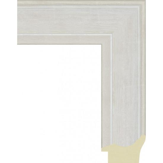 562.RS52.725 Пластиковый багет Белый в интернет-магазине ROSESTAR фото