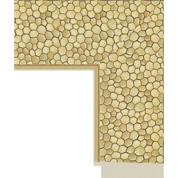 582.RS.243 Пластиковый багет Золотой