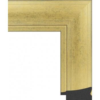 605.RS60.145 Пластиковый багет Золотой
