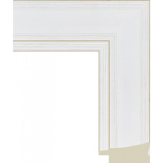 605.RS60.211 Пластиковый багет Белый в интернет-магазине ROSESTAR фото