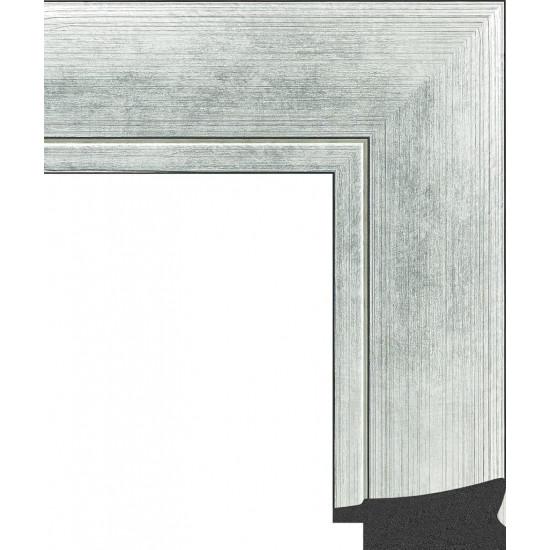 605.RS60.701 Пластиковый багет Серебряный в интернет-магазине ROSESTAR фото