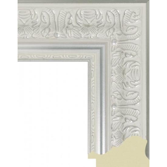 676.RS68.720 Пластиковый багет Белый в интернет-магазине ROSESTAR фото