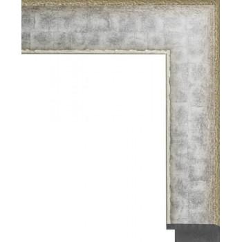 710.RS.133 Пластиковый багет Серебряный