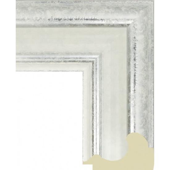 711.RS82.020 Пластиковый багет Белый в интернет-магазине ROSESTAR фото